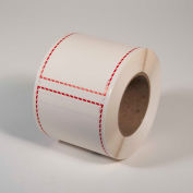 """INCOM® GHS1205 GHS Blank Thermal Transfer Label, Red Border, 4"""" x 6"""", 500 /Roll"""