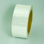 "Super Brite Reflective Tape, White, 2""W x 30'L Roll, HRT230WH"