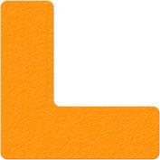 Floor Marking Tape, Orange, L Shape, 25/Pkg., LM110N