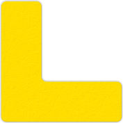 Floor Marking Tape, Yellow, L Shape, 25/Pkg., LM110Y