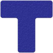 Floor Marking Tape, Blue, T Shape, 25/Pkg., LM130B