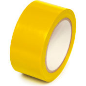 "Floor Marking Aisle Tape, Yellow, 4""W x 108'L Roll, PST410"