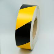 "Reflective Marking Tape, Yellow/Black, 2""W x 150'L Roll, RST582"