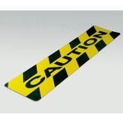 "Gator Grip Cleat, Caution, Yellow/Black, 6""W x 24""L, 10/Pkg., SG3126CAU"