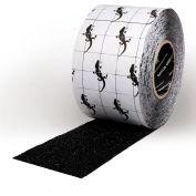 """Gator Grip Coarse Grit Anti-Slip Tape, Black, 4""""W x 50'L Roll, SG6504B"""