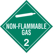 INCOM® TA220PS Class 2.2 Non-Flammable Gas Adhesive Vinyl Placard