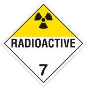 INCOM® TA700TB Class 7 Radioactive Tagboard Placard