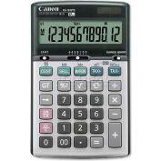 "Canon® 12-Digit Desktop Calculator, KS1200TS, Dual Power, 4-1/4"" X 6-7/8"" X 1"", Beige"