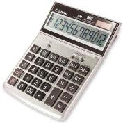 "Canon® 12-Digit Desktop Calculator, TS1200TG, 5-1/4"" X 7-3/8"" X 1-1/8"", Ebony"