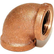 "Trenton Pipe Lf60040 4"" 90 Degree Elbow, Lead-Free Cast Bronze - Pkg Qty 2"