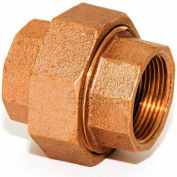 "Trenton Pipe Lf69040 4"" Union, Lead-Free Cast Bronze - Pkg Qty 2"