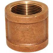 "Trenton Pipe LF74130X14 3"" x 1-1/2"" Reducing Coupling, Lead-Free Cast Bronze"