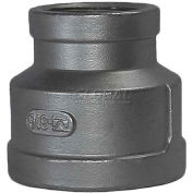 """Trenton Pipe Ss304-64114x04 1-1/2""""X1/2"""" Class 150, Reducing Coupling, Stainless Steel 304 - Pkg Qty 10"""