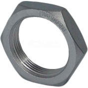 "Trenton Pipe Ss316-65903 3/8"" Class 150, Locknut, Stainless Steel 316 - Pkg Qty 25"