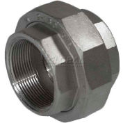 """Trenton Pipe Ss316-69012 1-1/4"""" Class 150, Union, Stainless Steel 316 - Pkg Qty 5"""