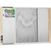 "Frost King Adjustable Window Screen, 18"" High, Extends 21-37"" - Pkg Qty 12"