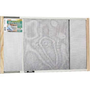 "Frost King Adjustable Window Screen, 18"" High, Extends 25-45"" - Pkg Qty 12"