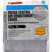 "Frost King Central Air Conditioner Cover, 34"" Diameter X 30"", Round - Pkg Qty 6"