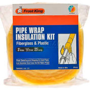 Frost King Fiberglass Pipe Wrap Kit - Pkg Qty 24