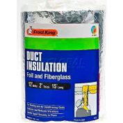 Frost King Foil & Fiberglass Duct Wrap FP55-6 - Pkg Qty 6