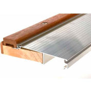 Frost King Premium Adjustable Aluminum & Oak Sill Threshold - Pkg Qty 5