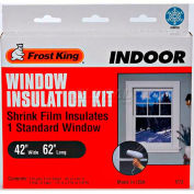"Frost King Standard Shrink Window Kit 1 Sheet - 42"" X 62"" - Pkg Qty 24"