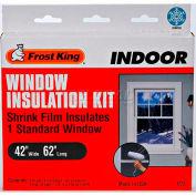"Frost King Standard Shrink Window Kit 1 Sheet - 42"" X 62"" - Pkg Qty 24"