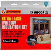 "Frost King Extra Large Shrink Window Kit 1 Sheet - 62"" X 210"" - Pkg Qty 12"