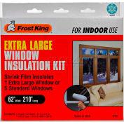 "Frost King Extra Large Shrink Window Kit 1 Sheet - 62"" X 210"" - Pkg Qty 12"