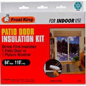 "Frost King Patio Door Shrink Window Kit, 84"" X 110"" - Pkg Qty 12"