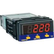 Temperature Control - Prog, 90-250V, Relay2A, TEC-220