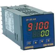 Temperature Control - Prog, 90-250V, SSR, TEC-9100