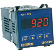Temperature Control - Prog, 90-250V, Relay2A, TEC-920