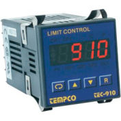 Temperature Control - Prog, 90-250V, Relay2A, Hi-Limit, TEC-910