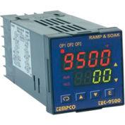 Temperature Control - 90-250VAC, 1/16Din, (2)2ARelay, TEC-9500