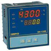 Temperature Control - Prog, 90-264V, Relay2A, 1/8 DIN, TEC55001