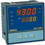 Temperature Control - 90-264VAC, 1/4Din, 4-20mA/3Relay, TEC55017