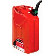 Briggs & Stratton SMART FILL 5 Gallon Metal Jerry Gas Can, 85043
