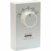 TPI Line Voltage Thermostat Single Pole Heat Or Cool ETD9STS