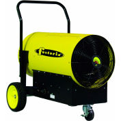 TPI Fostoria Salamander Heater Portable Electric FES-4560-3 - 45KW 600V 3 Phase Yellow