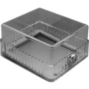 "TPI Plastic Thermostat Guard 8-1/8""W X 5-3/8""H X 3-1/4""D Opening TG3"