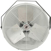 TPI U18CR,18 Inch Corrosion Resistant Workstation Fan-Wall/Ceiling 1/8 HP 1800 CFM