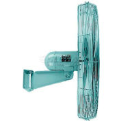 TPI UHP24WJR,24 Inch Industrial Unassembled High Performance Wall Fan 1/3 HP 4300 CFM