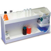 "TrippNT™ pH Meter Supplies Organizer, Medium, 24""W x 12""D x 6-1/4""H"