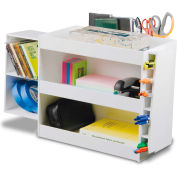 "TrippNT™ 50104 PVC Safety Shelf with Pen Tool and CD Holder 23"" x 9"" x 14"" White"