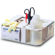 "TrippNT™ 50114 Rotating All-In-One Maximum Lab Organizer Small 11"" x 10"" x 4"" White"