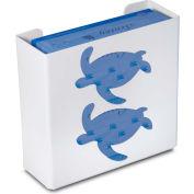 "TrippNT 50857 Sea Turtle Double Glove Box Holder & Dispenser, 11"" W x 10"" H x 4"" D, White, Styrene"