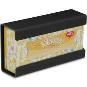 TrippNT 51189 Black PETG Small Wall Mountable Kleenex Box Holder