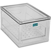 "TrippNT™ Acrylic Portable Personal Desiccator 51397 - Small 10""W x 6""D x 5""H, Clear"