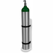 "TrippNT™ 51641 Element Healthcare Cart Oxygen Tank Mount with Security Straps 6""W x 5""D x 18""H"